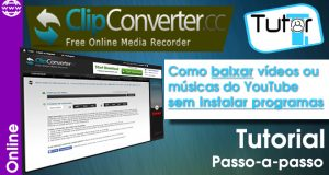 baixar vídeos do youtube com o site clip converter