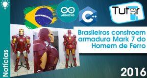 brasileiros constroem armadura do homem de ferro