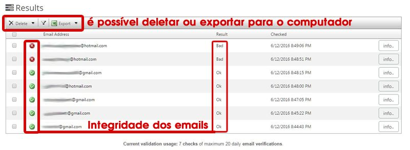 emails verificados no email hippo