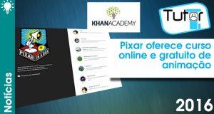 pixar oferece curso online e gratuito pela khan academy