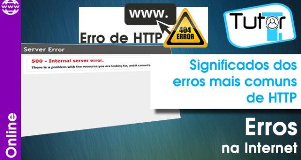 principais erros de http