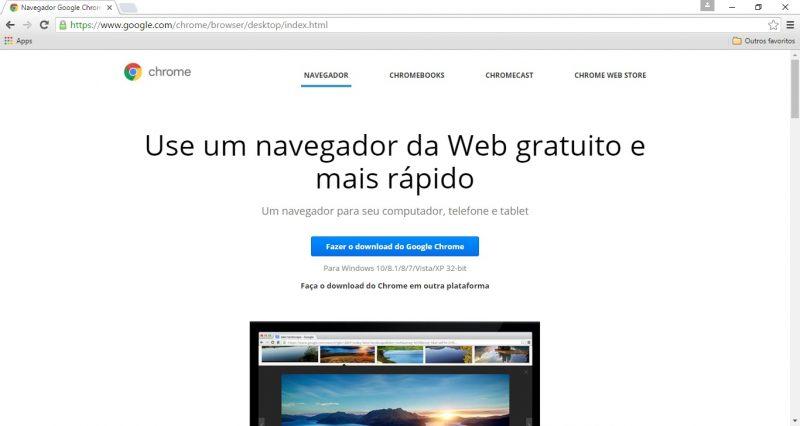 site do google chrome
