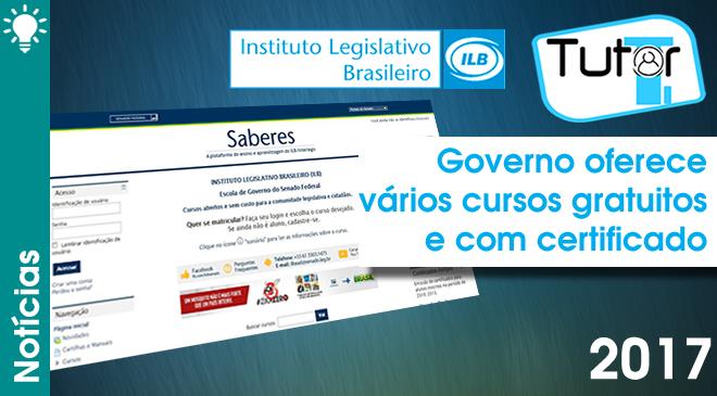 Governo oferece vários cursos gratuitos e com certificado